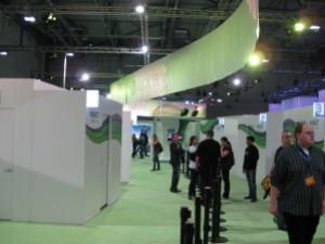 Gamescom -- Kinect booths